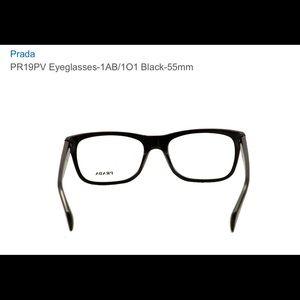 687649297f08 Black Prada Eyeglasses- 55mm
